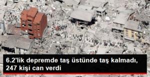 İtalya'yı Sallayan 6.2'lik Depremde Ölü Sayısı 247'ye Yükseldi