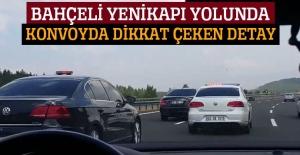 MHP Lideri Bahçeli Yenikapı'ya hareket etti