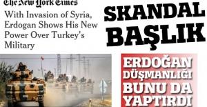 New York Times'tan skandal başlık