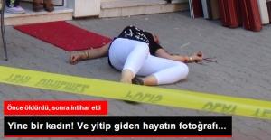 Saldırgan Koca Boşanma Aşamasındaki Karısını Öldürüp İntihar Etti