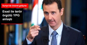 Suriye'de Önemli Gelişme! Esad ile YPG Anlaştı