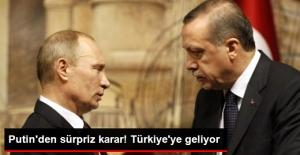 Vladimir Putin, Türkiye-Rusya Maçını İzlemek İçin Antalya'ya Gelecek