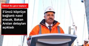 Yavuz Sultan Selim Köprüsü'nü Bu Gece 00.00'da Trafiğe Açılacak