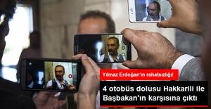 Yılmaz Erdoğan, 4 Otobüs Dolusu Hakkarili ile TBMM'ye Geldi