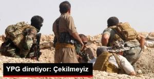 YPG Sözcüsü: Çekilmeyiz
