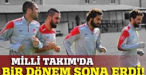 A Milli Futbol Takımı'nda bir dönem sona erdi!