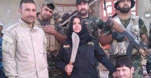 IŞİD'e karşı savaşan kadın, teröristlerin kafasını kesip pişirdi