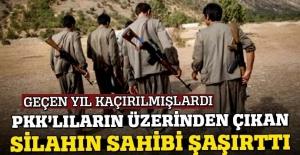 PKK'lıların üzerinde bulunan tabancalar bakın kime ait çıktı?