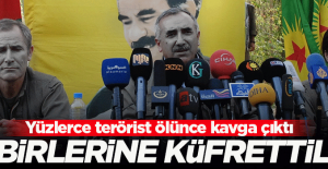 PKK'nın üst düzey yöneticileri birbirlerine küfretti