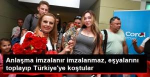 Rusya'dan İlk Charter Seferi Gerçekleşti! Rus Turistler Antalya'da