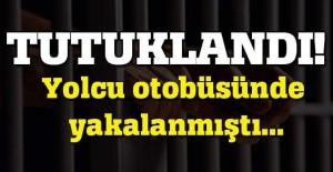 Yolcu otobüsünde yakalanan PKK'lı kadın tutuklandı