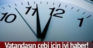 Akıllı sayaç saatleri değişti
