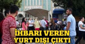 Antalya Adliyesi'ndeki bomba ihbarı yurt dışı kaynaklıymış