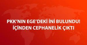 Antalya Konyaaltı'nda PKK'ya Ait 2 Sığınak Ele Geçirildi