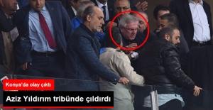 Aziz Yıldırım ile Atiker Konyasporlu Taraftarlar Tartışma Yaşadı