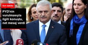 Başbakan PYD'nin Vurulmasıyla İlgili Konuştu: Kimin Ne Dediğinin Önemi Yok