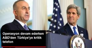 Çavuşoğlu Kerry ile Telefonda Görüştü