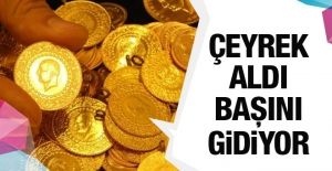 Çeyrek altın fiyatı uçtu Kapalıçarşı altın fiyatların dolar şoku
