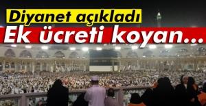 Diyanet: Ek ücreti koyan Suudi Arabistan