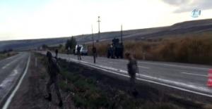 Diyarbakır'da sürücülerin dikkati sayesinde faciadan dönüldü