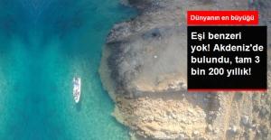 Dünyanın En Büyüğü, Benzeri Yok! Akdeniz'de 3200 Yıllık Dev Tersane Ortaya Çıkarıldı