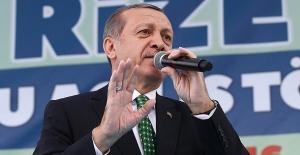 """Erdoğan: """"Suriye'de 5 bin kilometrekarelik bir güvenli bölge ilan edeceğiz"""""""