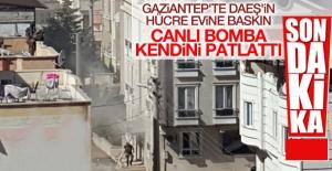 Gaziantep'te patlama   İlk bilgilere göre 10 kişi yaralandı.