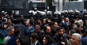 Gültan Kışanak ve Fırat Anlı'nın gözaltına alınmasına protesto