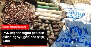 Hakkari#039;de Teröristlerin Cephaneliği...