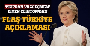 Hillary Clinton geri adım attı