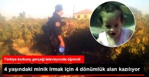 Korkunç Cinayeti Televizyonda İtiraf Etti! 4 Yaşındaki Irmak'ın Cesedi Aranıyor