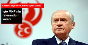 MHP: Referandumda Başkanlığa Hayır Diyeceğiz