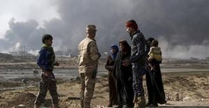 Musul'da 10 binden fazla kişi yerinden edildi