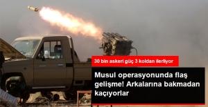 Musul Operasyonu Başladı! 8 Köy IŞİD'den Geri Alındı