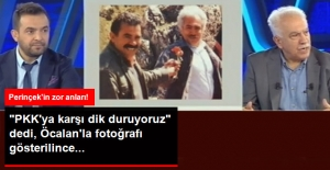 Öcalan'la Çektirdiği Fotoğrafın Gösterilmesi Perinçek'i Kızdırdı