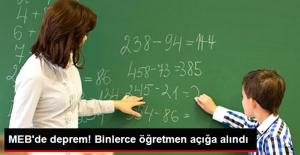 Son Dakika! 2 Bin 400 Öğretmen Açığa Alındı!