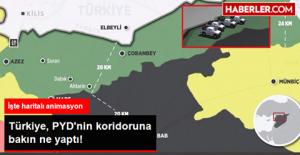 Türkiye PYD'nin Koridorunu Deldi!