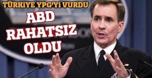 Türkiye YPG'yi vurdu, ABD rahatsız oldu