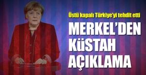 Almanya'dan küstah açıklama
