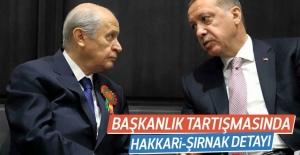 Başkanlık tartışmasında 'Hakkari-Şırnak' detayı