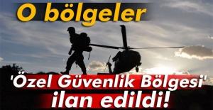 Beşkılıç-Türkyurdu arası özel güvenlik bölgesi ilan edildi