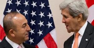 Dışişleri Bakanı Çavuşoğlu, Kerry ile görüştü