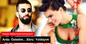 Ebru Şallı _ Arda Turan mesajları...