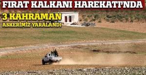 Fırat Kalkanı Hareaktı'nda 3 asker yaralı