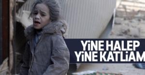 Halep'te 30 kişi hayatını kaybetti 250 kişi yaralandı
