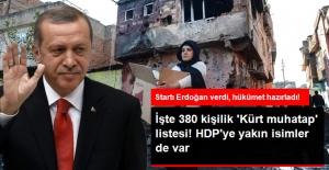 Hükümet Hazırladı, 380 Kişilik Kürt Muhatap Listesi! HDP'ye Yakın İsimler de Var