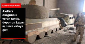 IŞİD, Pilotları Yanıltmak İçin Ahşaptan Tank ve Zırhlı Araç Maketleri Yapmış