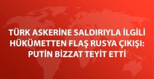 Numan Kurtulmuş: Türk Askerine Saldıranların.......Olmadığını Putin Teyit Etti
