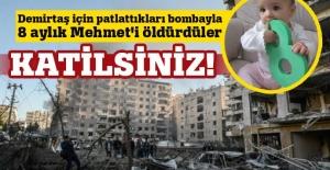 PKK Diyarbakır'da 8 aylık bebeği katletti!