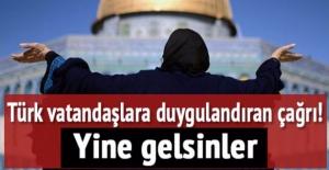 Türk vatandaşlara duygulandıran çağrı: Yine gelsinler